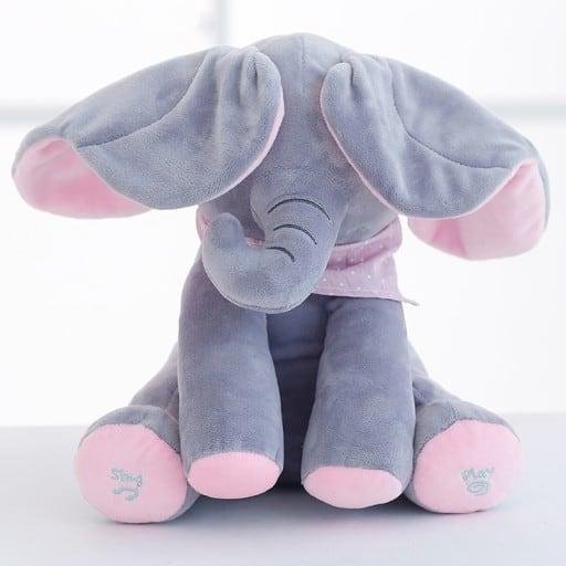 słoń peek a boo