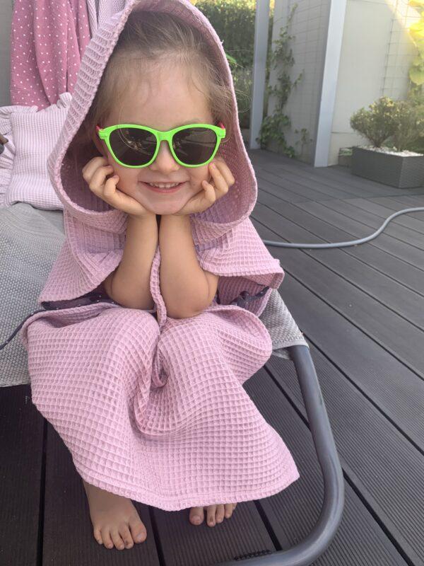 ponczo bawełniane dla dziecka