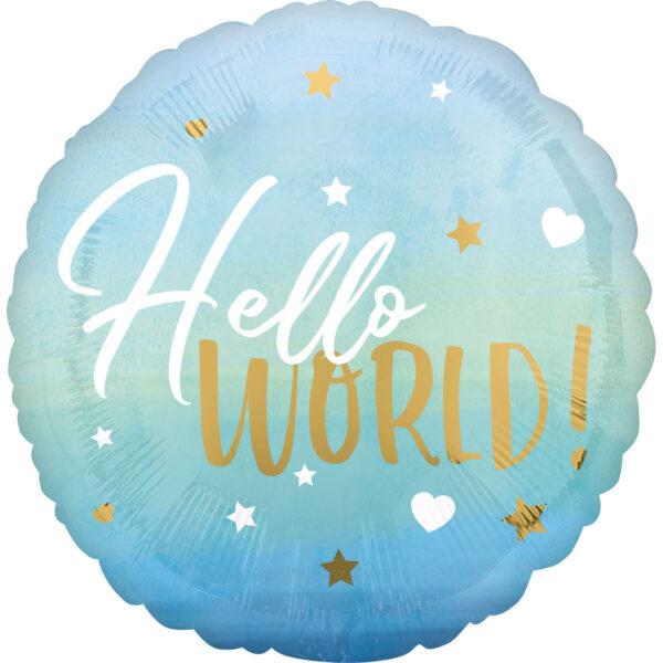 balon hello word