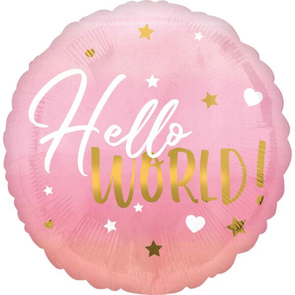 hello word girl