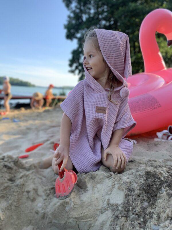 ponczo na plaze dla dziecka